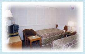 ツインルーム(1室)17.96平方メートル